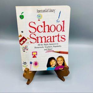 American Girl Library School Smarts Book (A20-20).